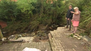 Counting the cost: the people of Coverack face the flood damage