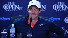 McIlroy won the Open in 2014.