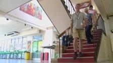 Former pupils bid farewell to old school