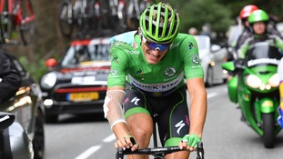 Kittel had won five stages of this year's Tour de France.