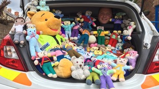 Huge response to 'trauma teddy' appeal for children involved in car accidents