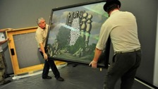 The exhibition features the Art Handling Manager's favourite pieces ahead of his retirement.