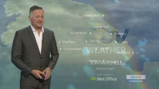 Thursday's early morning forecast