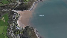 Police appeal for help to locate swimmer in Caswell Bay