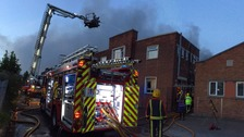 The fire was on Tyseley Industrial Estate