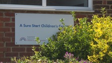 Parents protest against Sure Start closures