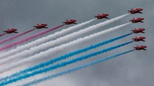 Meet the Red Arrows' North East team members