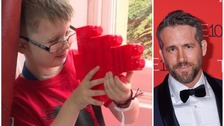 Ryan Reynolds makes terminally ill boy's wish come true
