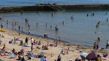 Free skin cancer checks at Dorset beach