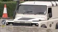 Gloucestershire flood