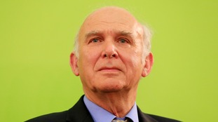 Vince Cable named new leader of Liberal Democrats