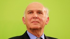 Sir Vince Cable is the new leader of the Liberal Democrats