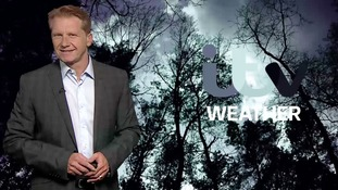 Thursday night's weather for the east of the region