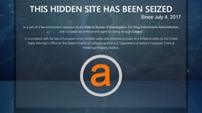 Largest online dark web market AlphaBay shut down