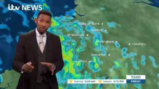 West Midlands Weather: Rain spreading eastwards