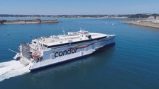 Condor's fast ferry, Liberation.