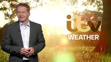 Simon has the latest weather forecast