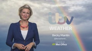 Thickening cloud and rain stalling across Wales and southwest England through tomorrow