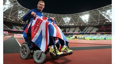 GB Stephen Miller wins bronze in World Para Championships