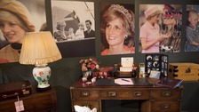 Diana's personal items to go on show