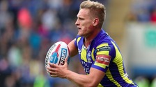 Brad Dwyer in action for the Warrington Wolves.