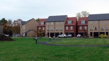 Houses on the new Shimmer estate in Mexborough, South Yorkshire.