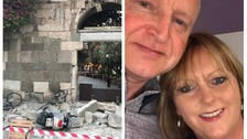 Couple 'terrified' after earthquake hit Turkey and Kos