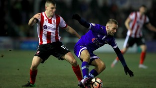 Harry Anderson has impressed while on loan at Lincoln City in the past.