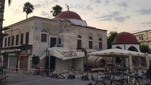 Holidaymakers from the south caught up in earthquake abroad