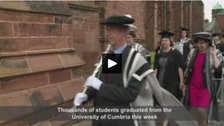WATCH: Thousands graduate as the University of Cumbria turns ten