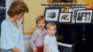William and Harry: The moment we heard our mother's voice for the last time