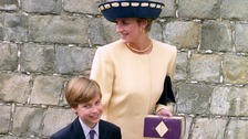 William on Diana. In his own words