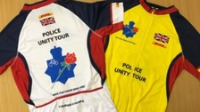 Police officers killed in the line of duty are to be remembered in a cycle ride from York.