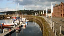 Burst sewer affects Whitehaven harbour