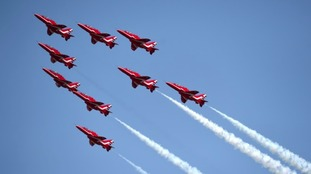 WATCH: Behind the scenes with the Red Arrows