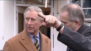 Prince Charles will be in the region later