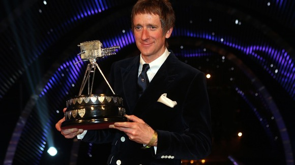 Winner of Sports Personality of the Year 2012, Bradley Wiggins