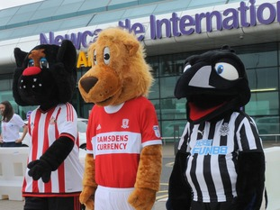 Newcastle International Airport announces Middlesbrough Football Club's Foundation is to join its list of adopted charity partners.
