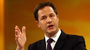 The Deputy Prime Minister will highlight differences between the Lib Dems and Conservatives