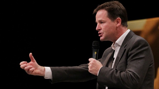 Nick Clegg is due to make his speech on welfare reform this morning