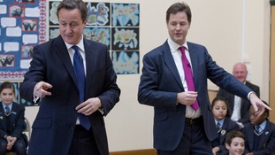 Some opinion polls put UKIP ahead of the Lib Dems
