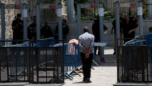 A dispute over metal detectors has escalated into a new showdown in the Holy City.