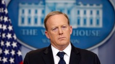 Trump didn't want White House press secretary Spicer to quit