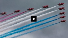 Stunts galore as weather clears for Sunderland Airshow