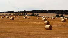 Viewer picture of newly baled hay at Kinlet in Shropshire
