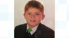 Aaron Taylor went missing from his home in Willenhall yesterday at around 5pm.
