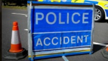 Lorry driver critically injured in hospital after collision