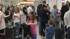 Busiest weekend ever for South's airports