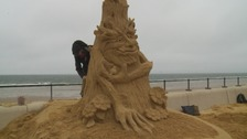 'Outrage' at Redcar sand sculpture demolition order