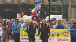 Newcastle Pride Parade.